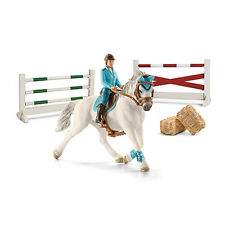 Schleich 42190 Tournament Set Model Show Jumping Horse Toy Figurine 2015 - NIP