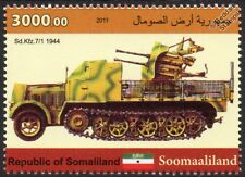 Sd.Kfz.7/1 WWII Half-Track Armoured Anti-Aircraft Vehicle Car Stamp