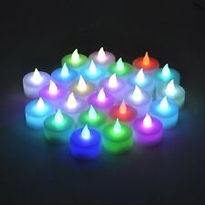 Instapark LCL-C24 Flameless LED Tea Light Tealight Candle Candles 2 Dozen Pack