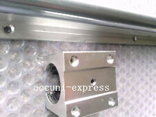 2 PC Linear Bearing Slide unità sbr16-750mm rotaie +4 PC blocksfor CNC