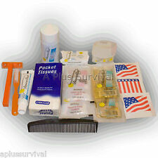 17 Piece Male Personal Hygiene Kit - Great for Travel