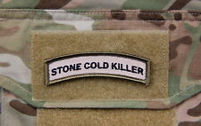 STONE COLD KILLER Tab Patch Multicam US Army Patch Afghanistan Hook/Loop
