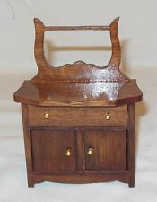 VICTORIAN TOWEL STAND DOLL HOUSE FURNITURE MINIATURES