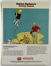 Vintage Hanna Barbera Style Guide PRINT - JONNY QUEST Rare Original Worldvision