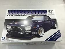Aoshima 11492 LB-Works Nissan Skyline Hakosuka Works 2Dr 1/24 scale kit 3011492