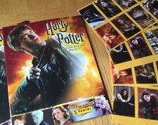 2 HARRY POTTER & THE HALF BLOOD PRINCE ALBUM BOOKS PANINI 40 Stickers / Cards