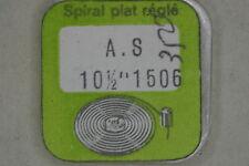 Hairspring balance AS 1506 Spirale bilanciere