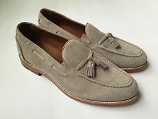 JCREW Ludlow 11 Suede Tassel Loafers Shoes $298  milkshake c4214 New