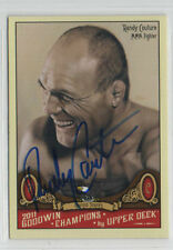 Randy Couture 2011 Goodwin Champions #131 signed autographed card