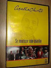 DVD SE MORISSE MIO MARITO AGATHA CHRISTIE MALAVASI
