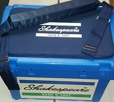 Shakespeare Team Seat Fishing Box + Padded Carry Strap & Cushion
