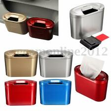 Car Trash Can Bin Garbage Storage Box Multifunction Vehicle Container Dustbin ca