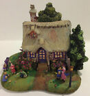 2007 TELEFLORA GIFT THOMAS KINKADE EASTER EGG HUNT COTTAGE FIGURINE - CHINA