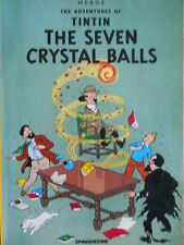 The Adventures Of TINTIN - The Seven Crystal Balls 1990 ed. De Agostini  [G.289]