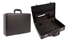 Brand New Mens Womens Black Work Business Executive Attache Briefcase Carry Bag