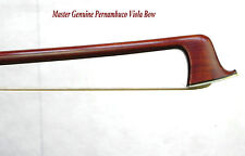 Master Viola Bow 4/4!Pernambuco Wood!Master Craftsmanship!Great Value!