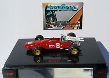 FERRARI 312 F1-67 CHRIS AMON 1967 1/43 HOT WHEELS ELITE
