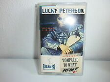 K7 LUCKY PETERSON Beyond cool GITANES JAZZ 512147 4 STICKER