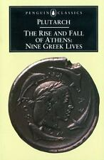 The Rise and Fall of Athens: Nine Greek Lives-ExLibrary