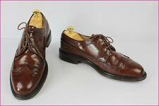 Derby CROWN SHOES Hand Made Tout Cuir Marron US 8 / FR 41,5 TBE