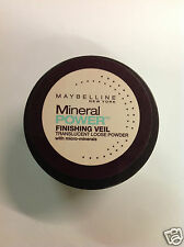 Maybelline Mineral Power Finishing Veil Translucent Loose Powder 0.14 OZ/4 g NEW