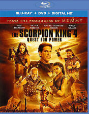 Brand New The Scorpion King 4 Quest for Power Blu-ray DVD HD Digital Download