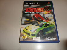 PlayStation 2  PS 2  Burnout 2: Point of Impact