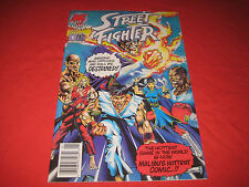 Street Fighter Issue No. 1 - Malibu Comics August 1993 First Issue