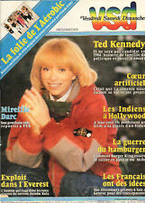VSD n°275 mireille darc  ted kennedy  clint eastwood