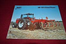 Massey Ferguson 129 Chisel Plow Dealer's Brochure YABE5