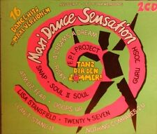 Maxi Dance Sensation 1 (1990) Snap, Fpi Project, Adamski, Lisa Stansfie.. [2 CD]