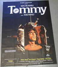 Affiche de cinéma : TOMMY de Ken RUSSELL