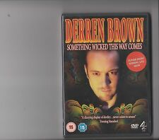 DERREN BROWN SOMETHING WICKED  THIS WAY COMES DVD LIVE SHOW