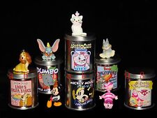 Yujin Disney Mickey Cheshire Cat Dumbo Metal Can & swing figure (full set 6 pcs)