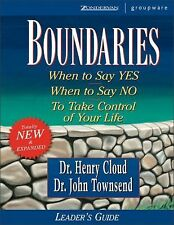 Boundaries Leader's Guide by Cloud, Henry, Townsend, John