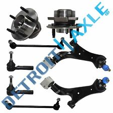 Brand New 8pc Complete Front Suspension Kit Equinox Torrent Saturn Vue -Non ABS-