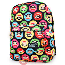 "Paul Frank Julius Dots School Backpack 16"" Large Bag Color Dots Face"