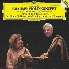 Brahms: Violinkonzert Sophie-Mutter Karajan DG Deutsche Grammophon Minty CD