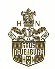 O.H.W.HADANK Design by * Haus Neuerburg * Trademark 1926 * Advertising Art 1939