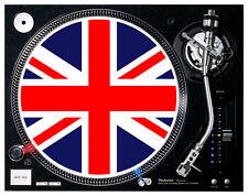 Union Jack ( United Kingdom )  - Turntable / DJ Slipmats