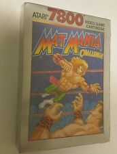 NEW FACTORY SEALED MAT MANIA FOR ATARI 7800 PAL VERSION NOT FOR USA OR CANADA