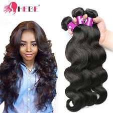 "Brazilian Body Wave Hair 3 Bundles 300g 20"" 22"" 24"" Soft Human Hair Extensions"