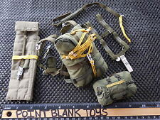 SOLDIER STORY PARACHUTE + ACC 82ND AIRBORNE PARATROOPER PANAMA 1/6TH TOYS did