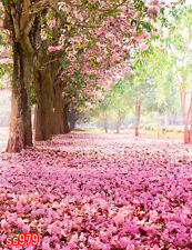 hoga 5X7 FT CP SPRING CHERRY BLOSSOM SCENIC PHOTO BACKGROUND BACKDROP SS979