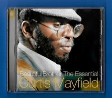CURTIS MAYFIELD BEAUTIFUL BROTHER THE ESSENTIAL CURTIS MAYFIELD CD ALBUM (2000)