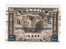 Canada Airmail Stamp Scott #C4 5-cents Used