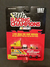#5 KELLOGG'S  1/144 SCALE TRANSPORTER & CAR  RACING CHAMPIONS 1997 PREVIEW   B56