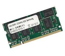 Notebook di memoria DDR 333 MHz SODIMM PC2700 RAM PC333 SO-DIMM 200pin 1 GB Samsung