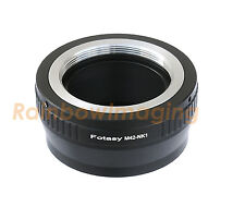 Adjustable M42 42mm Screw Mount Lens to Nikon 1 N1 J1 V1 J2 Camera Adapter Ring