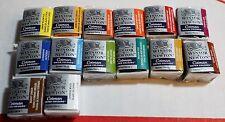 Winsor & Newton Cotman Watercolour Watercolor Half-Pans 1/2 pan Paint Lot Set 14